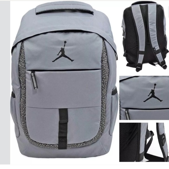 6cd20ec1dfc5 Nike Air Jordan Jet Backpack Laptop School Bag